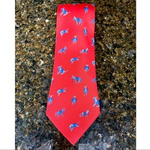 Hermès Paris Silk Donkey Burro Men's Tie